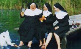 Les religieuses et le satyre !