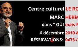 6 décembre à Le Roeulx (centre culturel)